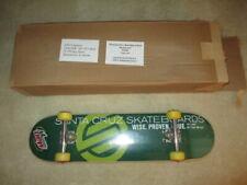 A Brand New Santa Cruz Mountain Dew Skateboard w Krux Trucks! Still in plastic!