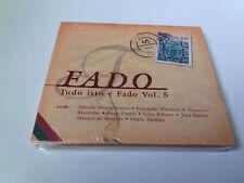 """CD """"FADO TUDO ISTO E FADO VOL 5"""" CD 14 TRACKS PRECINTADO SEALED ALFREDO DUARTE J"""