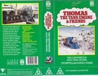 THOMAS THE TANK ENGINE THE DEPUTATION GREEN COVER VHS VIDEO PAL A RARE FIND