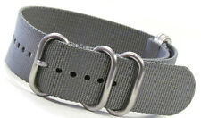 Panatime Ballistic Nylon Nato® Watch Strap with 5 Stainless Steel Rings