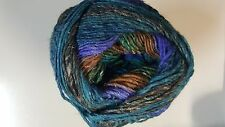 Noro Silk Garden Sock Yarn #S369 Purple Blue Green Brown 100g