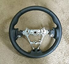 TOYOTA Corolla Hand Stitched Black Leather steering wheel 13 - 16