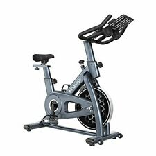 Spin Bike, Magnetic Indoor Stationary Bike With LCD To-Plan Fitness Cadence
