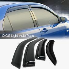 TOYOTA CAMRY 97-01 Smoke Side Window Vent Sun Shade Rain Guard Visors Deflector
