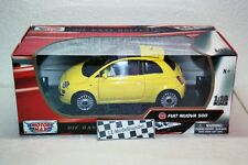 FIAT NUOVA 500 * NUOVO * MOTOR MAX * 1:18
