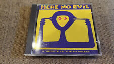 Here No Evil: A Tribute to the Monkees by Various Artists CD POWER POP 1992