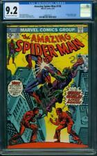 Amazing Spider-Man #136 CGC 9.2 OW/WH (1st Harry Osborn Green Goblin)