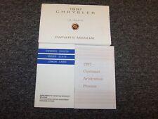 1997 Chrysler Intrepid Owner Owner's Operator User Guide Manual Set ES 2.7L 3.2L