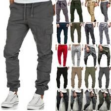 Mens Pants Joggers Joggings Sport Gym Bottoms Fitness Trousers Casual Sweatpants