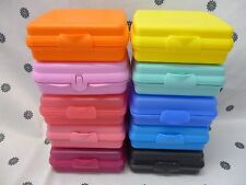 Tupperware Sandwich Keeper Lunch Box Assorted Colours New