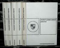 Modern Power Stations - 5 Volume Collection, 1-5, 1963-1964-  Hardback Books.