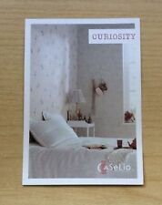CARTOLINA - PUBBLICITA' CASELIO - COLLECTION CURIOSITY - NON VIAGGIATA - NEW