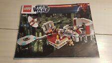 Lego 9526 Anleitung / Star Wars / Palpatine's Arrest - INSTRUCTION