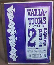 Variations on 2 Card Classics by Tan Choon Tee