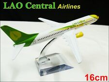 BOEING 737 LAO Cental AIRLINE THAILAND16CM METAL PLANE MODEL DIE-CAST TOY GIFT