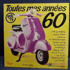 Compil Toutes mes années 60 HALLYDAY / DUTRONC / CHATS SAUVAGES / FANTOMES