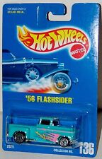 Hot Wheels 56 Flashsider Stepside Truck Blue Card Collector #136 Malaysia 1992