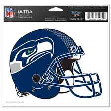 "Wincraft 5"" x 6"" NFL Multi Use Decal Seattle Seahawks Helmet NEW"