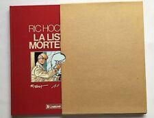 RIC HOCHET LA LISTE MORTELLE Tome 42.  Signé TIBET DUCHATEAU. Edition originale