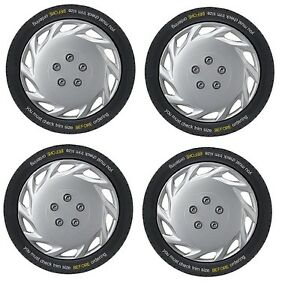 Seat Exeo 16 inch Vegas Silver Wheel Trims (2008-2013)