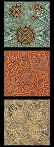 Ngurambang Collection Panel-Kangaroo Dreaming Australian Aboriginal 100% Cotton