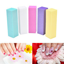 Nail Art 2Pcs Block Files Manicure Buffer For Salon UV Gel Polish Pedicur PB