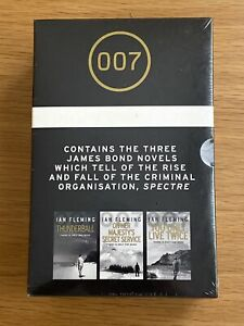The Spectre Trilogy James Bond 007 Ian Fleming - 3 Book Collection *New Sealed*