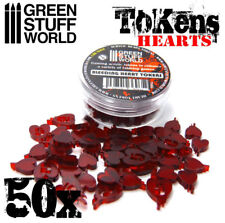 Life Tokens - Heart - Markers Tabletop Card Board Games - Magic Vampire