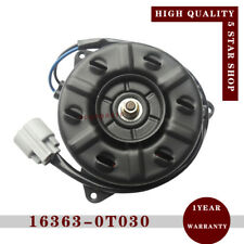 New Radiator Cooling Fan Motor 163630T030 For Toyota ZRE120 ZRE122 ZRE15#ZRE18#