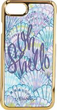 NIB Lilly Pulitzer Oh Shello Iphone 7 / 8 Luxe Hard Cover Case