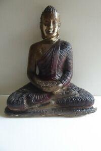 VINTAGE PLASTER BUDDHA STATUE