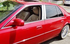 Cadillac DTS 2006 2007 2008 2009 CHROME PILLAR POST 6 PIECE SET!!
