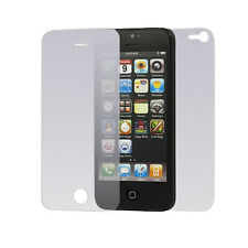 10 x Clear Front and Back Screen Protector Film Guard For Apple iPhone 5 5S 5E