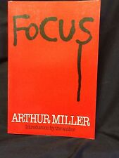 Arthur Miller Author Playwright Focus Signed Autograph 1st Edition Book