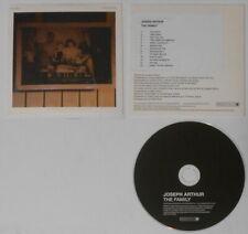 Joseph Arthur - The Family  E.U. promo cd