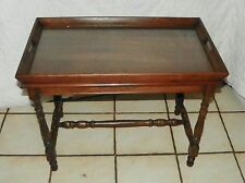 Small Walnut Coffee Table with Lift Off Serving Tray  (RP)  (CT76)