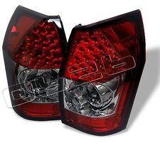 Dodge Magnum 2005 2006 2007 2008 LED Tail Lights Red Smoke Euro Style