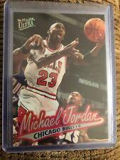 1996-97 Fleer Ultra #16 Michael Jordan Chicago Bulls Basketball
