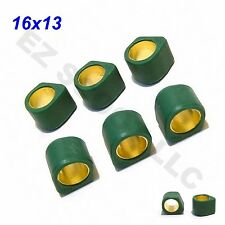 HIGH PERFORMANCE SLIDING ROLLER WEIGHTS 4.5G 16x13mm GY6 4STROKE SCOOTER BAJA