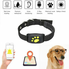 Waterproof Pet Tracker GPS Locator Collar GSM GPRS Real Time Tracking fr Dog Cat