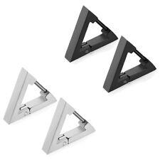 hoop small For Men & Women 00004000 Stainless Steel Triangle Earrings Hinged huggy huggie
