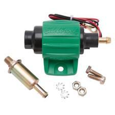 Edelbrock Electric Fuel Pump 17302; Micro Electric 38 gph Green/Black Diesel