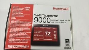 Honeywell TH9320WFV6007 Wi-Fi  with Voice Control Thermostat Black Rare