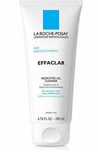 La Roche-Posay Effaclar Medicated Gel Acne Face Wash, Facial Cleanser