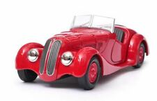 Red BMW 328 oldtimer automobile classic model car Welly diecast 1:36 toys boxed