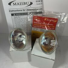 Malibu Landscape Rock Light Spotlight Replacement Bulbs 2-pack Connectors Manual