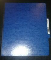 My Spy Movie Prop Production Used CIA Briefing Folder 5 Pages in the Folder (J)