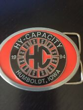 Hy-Capacity 1994 Humboldt Iowa Belt Buckle Parts for Agricultural Equipment L Ed