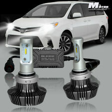 For 2004 2005 Toyota Sienna G7 Black LED Headlight Bulb Conversion Low Beam Kit