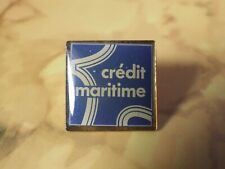 Pin's Vintage Lapel Collector Pins Advertising Credt Maritime Lot C020
